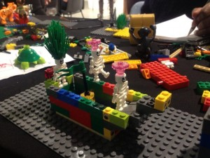 Lego serious play, UAL, University of the Arts London