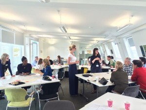 co-design workshop at UAL
