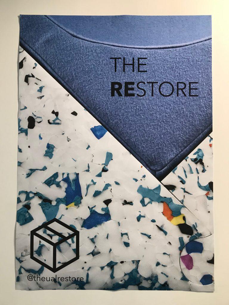 The restore logo.