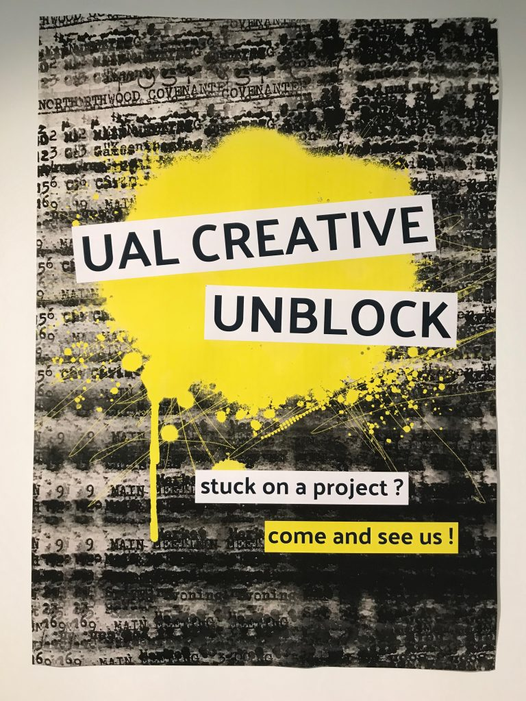 The Creative Unblock logo.