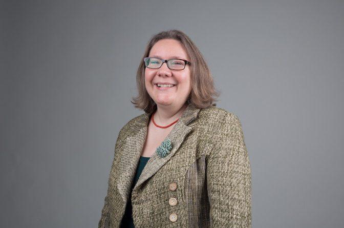 Headshot of Dr Sadowska smiling